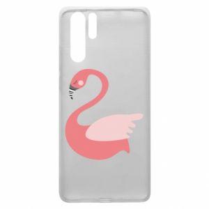 Etui na Huawei P30 Pro Pink swan swims