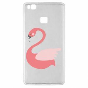 Etui na Huawei P9 Lite Pink swan swims