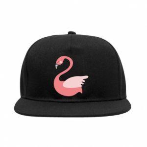 Snapback Pink swan swims