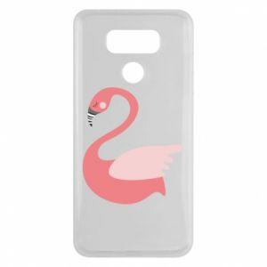 Etui na LG G6 Pink swan swims