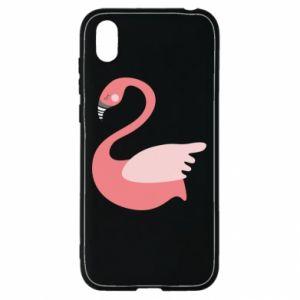 Etui na Huawei Y5 2019 Pink swan swims