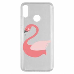 Etui na Huawei Y9 2019 Pink swan swims