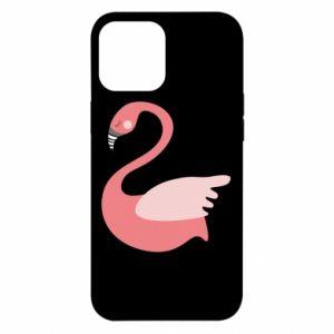 Etui na iPhone 12 Pro Max Pink swan swims