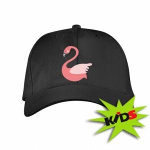Czapeczka z daszkiem dziecięca Pink swan swims