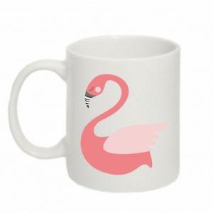 Kubek 330ml Pink swan swims