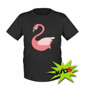 Koszulka dziecięca Pink swan swims