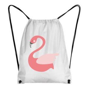 Plecak-worek Pink swan swims