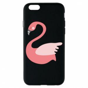 Etui na iPhone 6/6S Pink swan swims