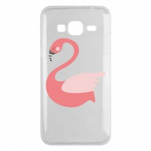 Etui na Samsung J3 2016 Pink swan swims