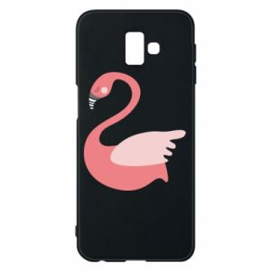 Etui na Samsung J6 Plus 2018 Pink swan swims