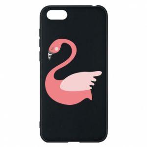 Etui na Huawei Y5 2018 Pink swan swims
