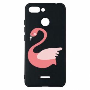 Etui na Xiaomi Redmi 6 Pink swan swims