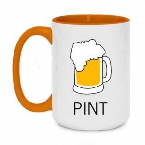 Two-toned mug 450ml Pint