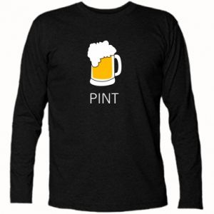 Long Sleeve T-shirt Pint - PrintSalon