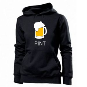 Women's hoodies Pint - PrintSalon