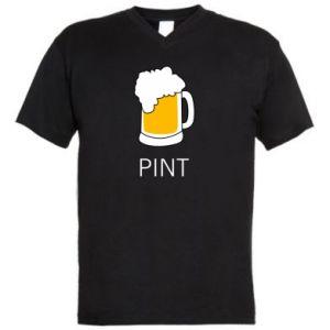 Męska koszulka V-neck Pint