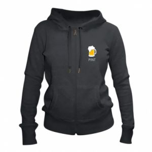 Women's zip up hoodies Pint - PrintSalon