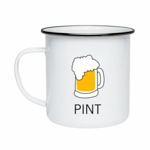 Enameled mug Pint
