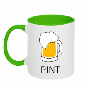 Two-toned mug Pint - PrintSalon