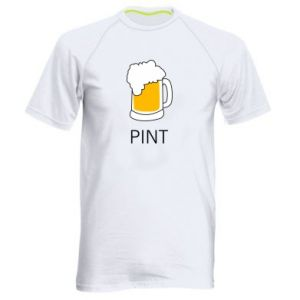 Men's sports t-shirt Pint - PrintSalon