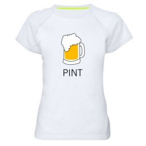 Women's sports t-shirt Pint - PrintSalon