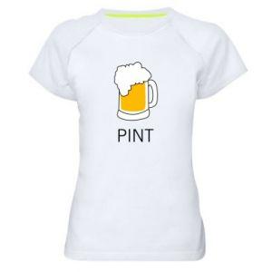 Women's sports t-shirt Pint