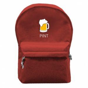 Plecak z przednią kieszenią Pint