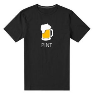 Men's premium t-shirt Pint - PrintSalon