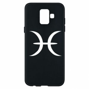Phone case for Samsung A6 2018 Pisces