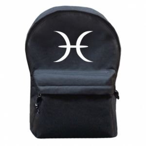 Backpack with front pocket Pisces
