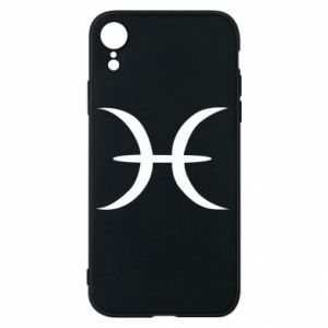Phone case for iPhone XR Pisces