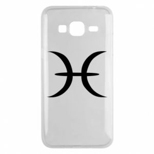 Phone case for Samsung J3 2016 Pisces