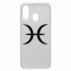 Phone case for Samsung A40 Pisces