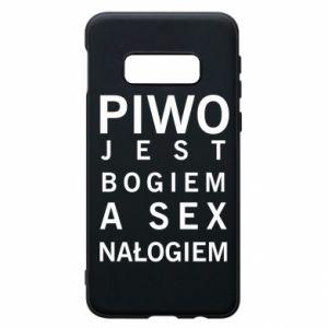 Etui na Samsung S10e Piwo jest bogiem a sex nałogiem