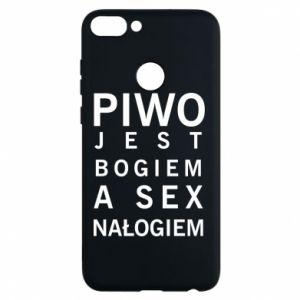 Etui na Huawei P Smart Piwo jest bogiem a sex nałogiem