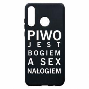 Etui na Huawei P30 Lite Piwo jest bogiem a sex nałogiem