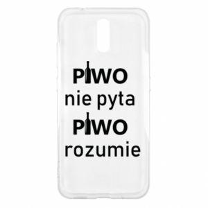 Etui na Nokia 2.3 Piwo nie pyta piwo rozumie