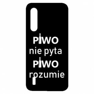 Etui na Xiaomi Mi9 Lite Piwo nie pyta piwo rozumie