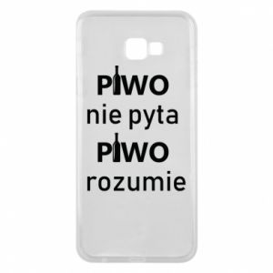 Phone case for Samsung J4 Plus 2018 Beer does not ask beer understands - PrintSalon