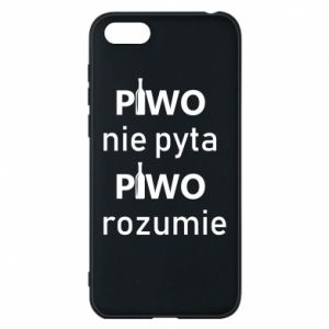 Phone case for Huawei Y5 2018 Beer does not ask beer understands - PrintSalon