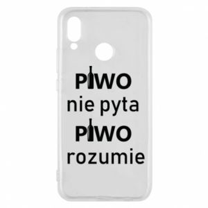 Phone case for Huawei P20 Lite Beer does not ask beer understands - PrintSalon
