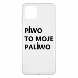 Etui na Samsung Note 10 Lite Piwo to moje paliwo, z butelkami