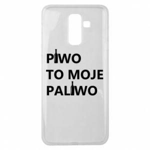 Etui na Samsung J8 2018 Piwo to moje paliwo, z butelkami