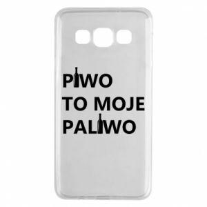 Etui na Samsung A3 2015 Piwo to moje paliwo, z butelkami