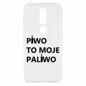 Etui na Nokia 4.2 Piwo to moje paliwo, z butelkami