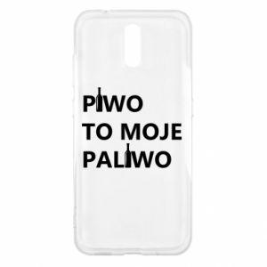 Etui na Nokia 2.3 Piwo to moje paliwo, z butelkami
