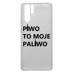 Etui na Huawei P30 Pro Piwo to moje paliwo, z butelkami