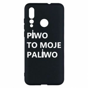 Etui na Huawei Nova 4 Piwo to moje paliwo, z butelkami