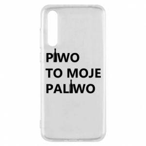 Etui na Huawei P20 Pro Piwo to moje paliwo, z butelkami