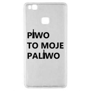 Etui na Huawei P9 Lite Piwo to moje paliwo, z butelkami